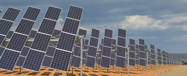 Solar panels, renewable energy