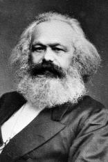 Karl Marx (1818-1883), philosopher and German politician